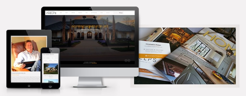 Marketing Collateral and Web Design package for Christopher Phelps