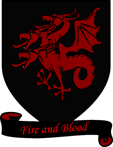 A_Song_of_Ice_and_Fire_arms_of_House_Targaryen_black_scroll