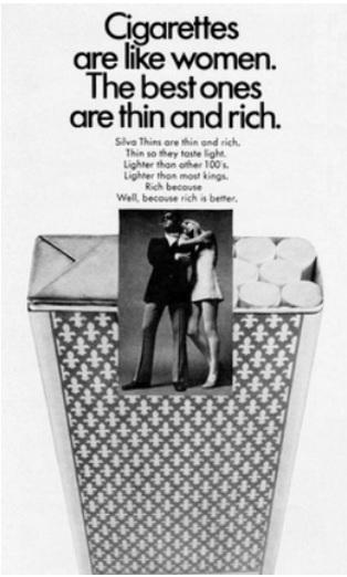 Advertisements, Sexism, Branding, Silva, Cigarettes