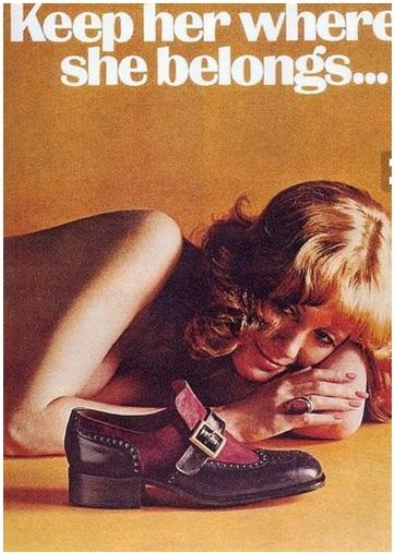 Advertisements, Sexism, Branding, Weyenburg, Footwear