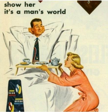 Advertisements, Sexism, Branding, Van Heusen