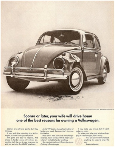 Advertisements, Sexism, Branding, Volkswagen, VW, Automobile