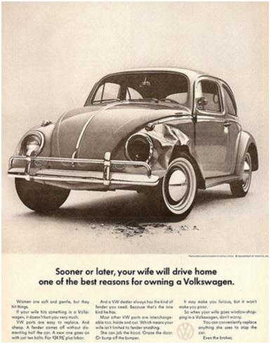 Advertisements, Sexism, Branding, Volkswagen, VW, Automobile