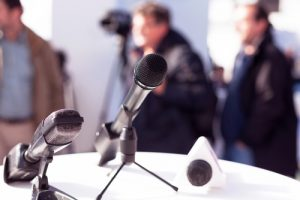 Press Conference, Media, Microphone, Public Relations, Newsworthy