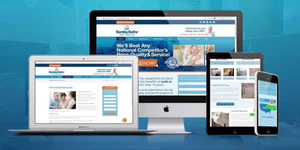 TalenAlexander Portfolio Bentley Baths Website