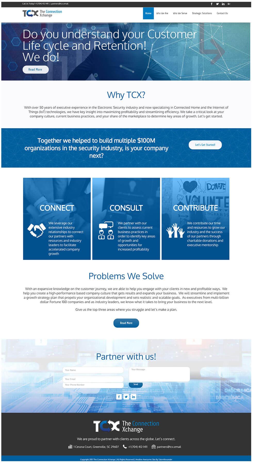 TCX-Website