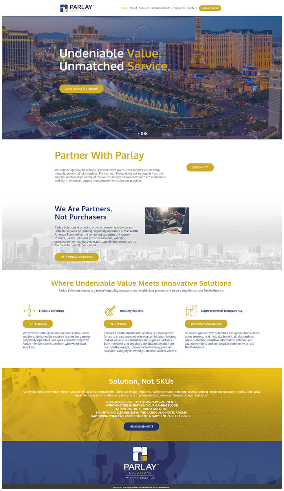 Parlay-Website