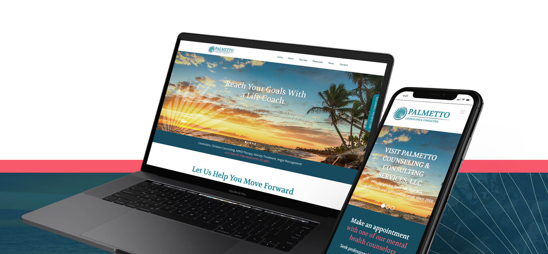 palmetto-logo-website-design-mock