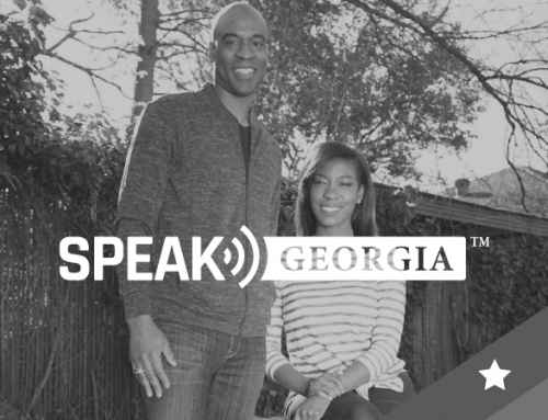PR: Kelvin and Janelle King, Founders of Speak Georgia and Owners of Osprey Management, Welcomed On Stage by President Donald J. Trump at Black Voices for Trump Coalition